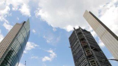 Mexico City, Mexico-CIRCA June, 2014: Set of buildings timelapse. — Stock Video