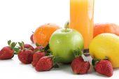 Healthy diet menu — Stock Photo