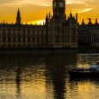 Big Ben Tower golden hour (01) — Stock Photo #76556217