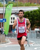 Bristol, England - 13 SEPTEMBER 2015 Bristol Half Marathon 2015 — Stock Photo