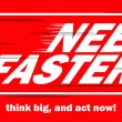 Need Faster — Stock Vector #70471153