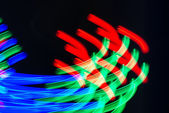 Meditation color abstract wave blur lights in motion — Stock Photo