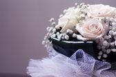 Beyaz düğün buketi — Foto de Stock