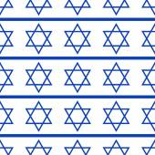 Seamless pattern with symbols of the Israeli — Stock Vector
