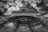 La torre eiffel a parigi. — Foto Stock