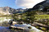 Rila Mountains in Bulgaria — Stock Photo