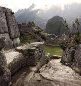 Machu Picchu Lost city ruins — Stock Photo