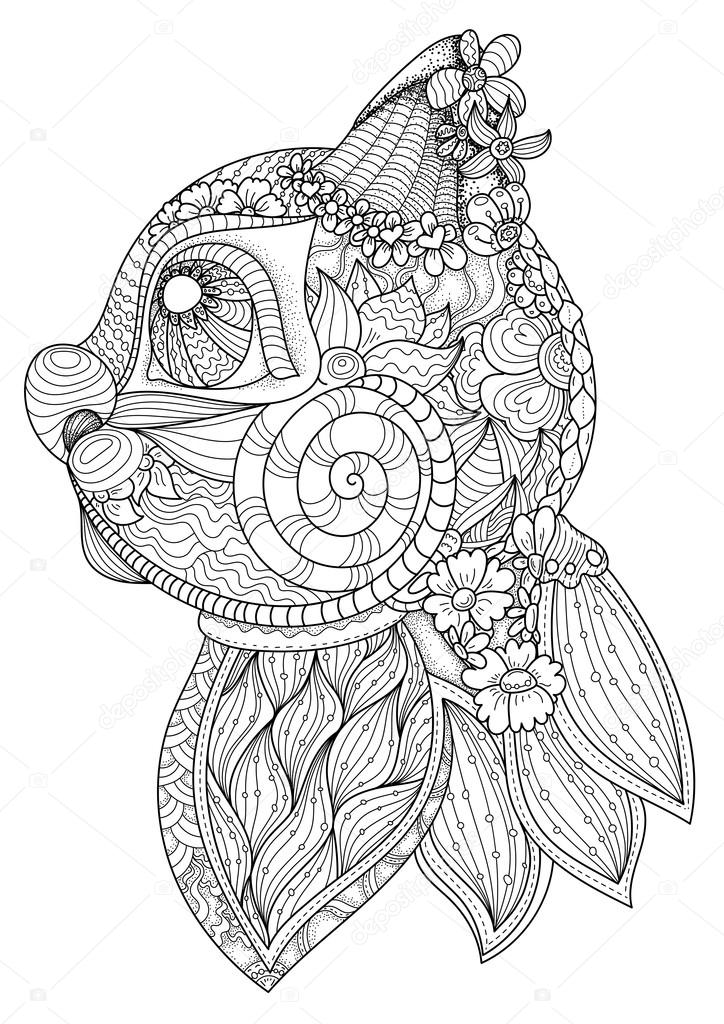 zentangle coloring pages birds sketch coloring page