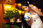 Stylish Bride sexy — Stock Photo