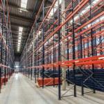 Empty warehouse racks — Stock Photo #73051561