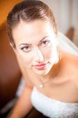 Close-up portraits of the bride — Foto de Stock