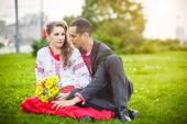 Casamento ucraniano — Fotografia Stock