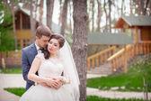 свадьба в парке — Стоковое фото