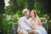 Love wedding couple — Stock Photo