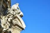 Beautiful decorative architectural details, Munich — Stock fotografie