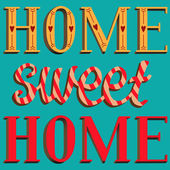 Lettering Home sweet home — Vecteur