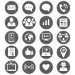 Media and communication icons — Stock Vector #70509697