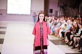 TERNOPIL UKRAINE - MAY 17: Podolyany Fashion Week.  May 17, 2015 — Stock Photo