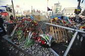 基辅,乌克兰-2014 年 2 月: Euromaidan。自由的革命 — 图库照片