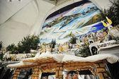 Christmas nativity crib sets — Stock Photo