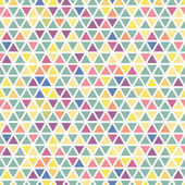 Seamless triangle pattern. — Stock Vector