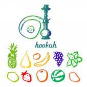 Hookah tobacco taste different — Stock Vector