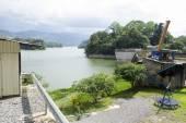 A barragem Arenal em De Cachi, Costa Rica — Fotografia Stock