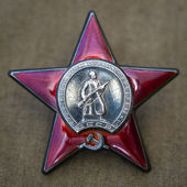 Order of the Red Star. May 9 — Stockfoto