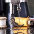Vintage the sewing machine — Stock Photo #73774705