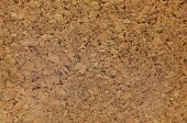 Cork board, Texture of fiberboard from bagasse — Stock Photo