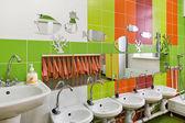 Children's room for washing — Stock Photo