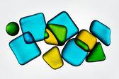 Colored glass — Stock Photo