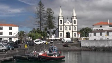 Madalena Church on Pico Island — Stok video