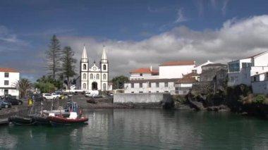 Madalena Church on Pico Island — Stock Video