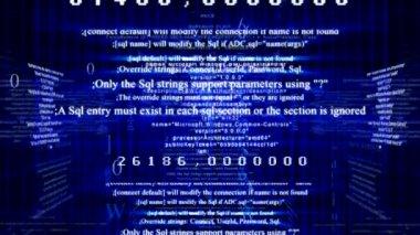 Digital communication background — Stock Video