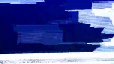 Tv static fine adjustment — Stock Video