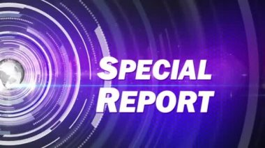 Special report generic — Stock Video