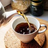 Tea morning — Stockfoto
