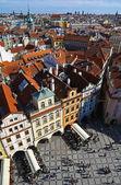 Vertical view of Prague — Foto de Stock