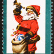 Santa Claus on old US stamp — Stock Photo #71204337
