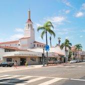 Architecture of Santa Barbara — Stock Photo