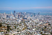 San Francisco skyline by day — Stock Photo