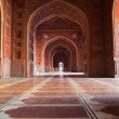 Inside of the Mosque in Taj Mahal — Stock Photo #73945815