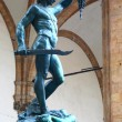 Statue of Perseus in Florence — Stock Photo #74474385