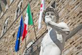 David by Michelangelo in Florence — Stock Photo
