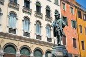 Monument of Carlo Goldoni — Stock Photo