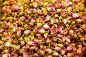 Dried rosebuds on sale in Grand Bazaar — Stock Photo