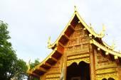 金色的屋顶的佛教寺庙 — 图库照片