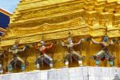 Demons of Grand Palace in Bangkok, — Photo