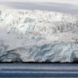 Antarctic glacier on seaside — Stock Photo #77118865